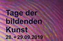 Tage der bildenden Kunst am 28. + 29.09.19